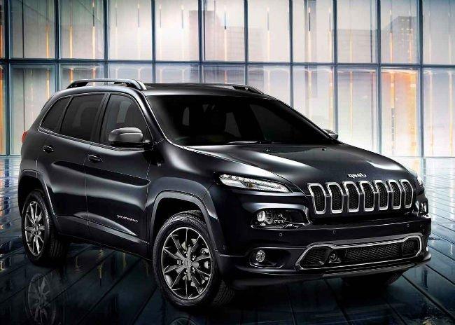 2016 Jeep Wagoneer Black
