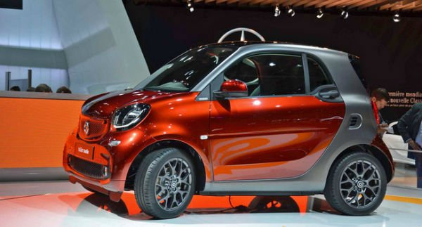 2016 Smart Fortwo Model