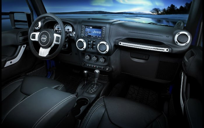 Jeep Liberty 2016 Interior