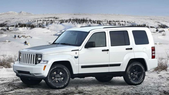Jeep Liberty 2016 White