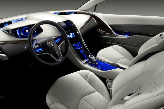 2016 Cadillac Cts Coupe Interior