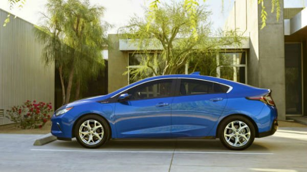 2016 Chevrolet Bolt Ev Blue