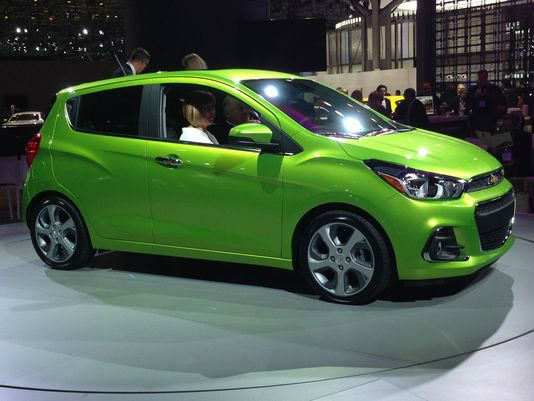 Chevy Spark Paint Code