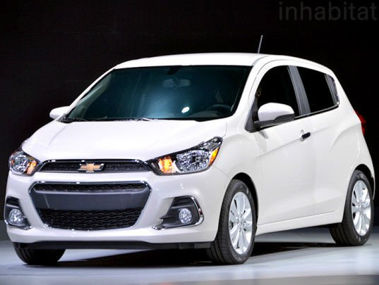 2016 Chevrolet Spark White