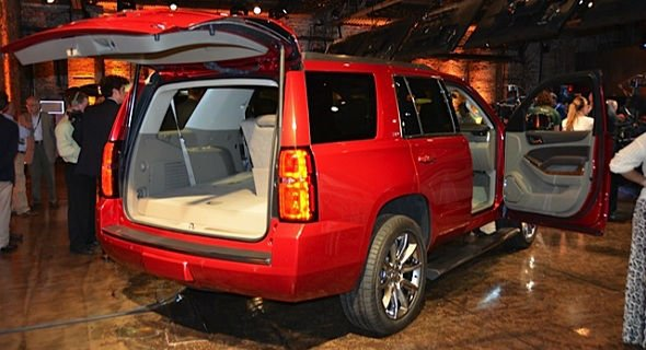 2016 Chevrolet Tahoe Cargo Space