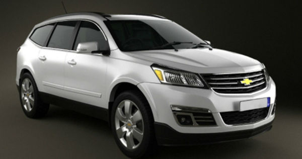 2016 Chevrolet Traverse White