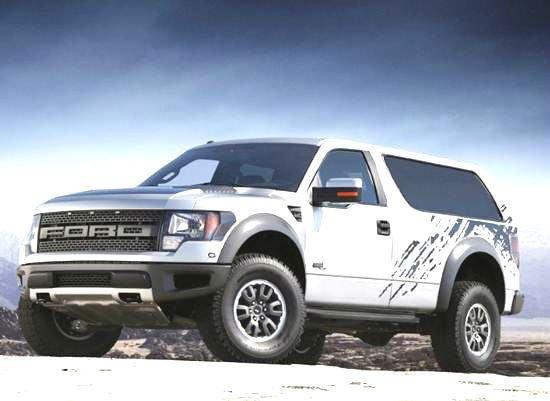 2016 Ford Bronco SVT Conept