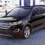 2016 Ford Edge Sport black