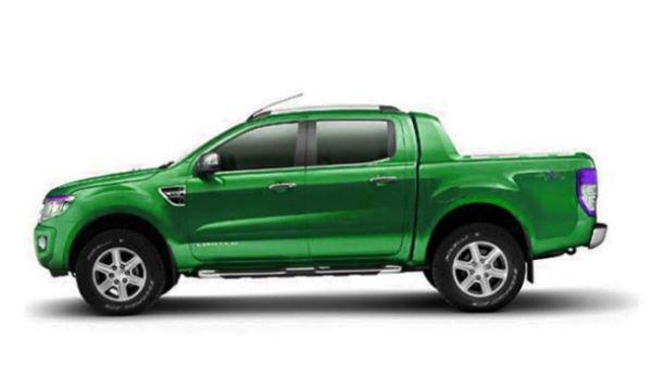 Ford Ranger Wildtrak >> 2016 Ford Ranger (Green)