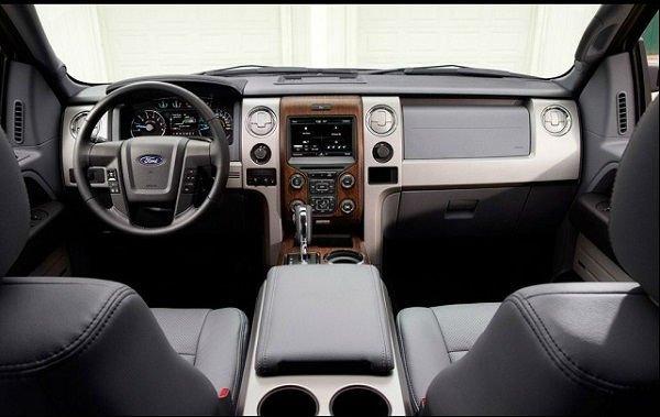 2016 Ford Raptor Bronco Interior