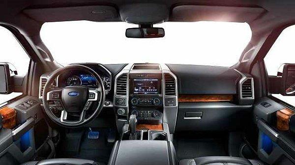 2016 Ford Raptor Interior