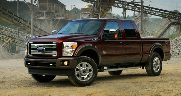 2016 Ford Super Duty Diesel