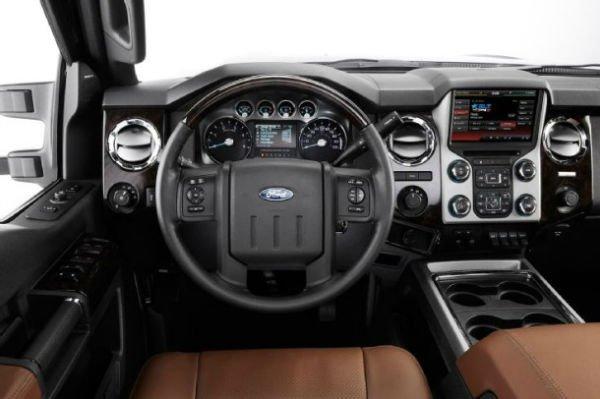 2016 Ford Super Duty Interior