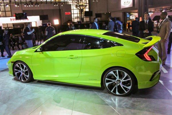 2016 Honda Civic Concept Green