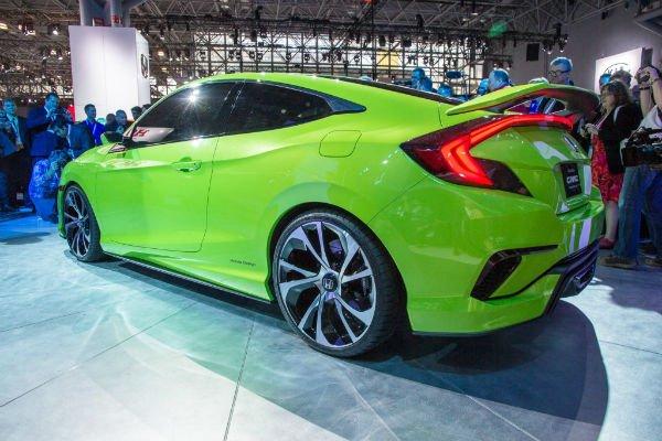 2016 Honda Civic Concept New York Auto Show