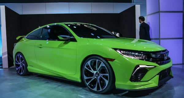 2016 Honda Civic Green
