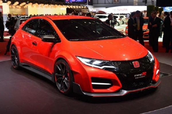 2016 Honda Civic Type R (Orange)