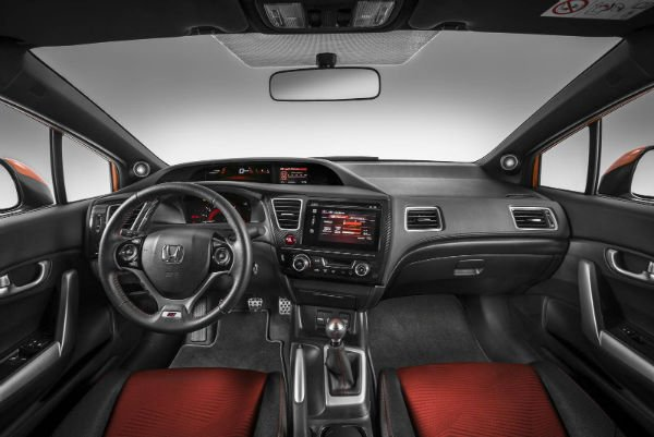 2016 Honda Civic si Interior