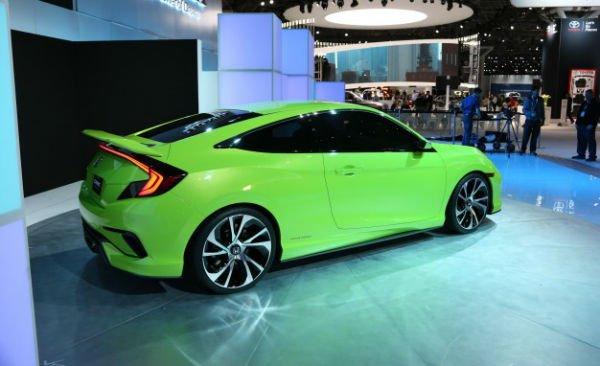 2016 Honda Civic Si Green