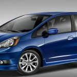 2016 Honda Fit (Blue)