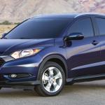 2016 Honda HRV Blue
