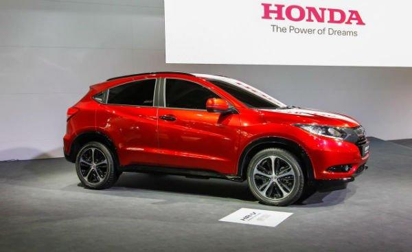 2016 Honda HRV Red