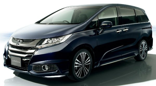 2016 honda odyssey spy shots. Black Bedroom Furniture Sets. Home Design Ideas