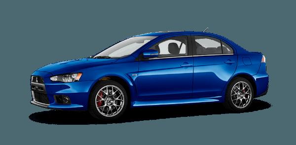 2016 Mitsubishi Lancer Evolution Octane Blue