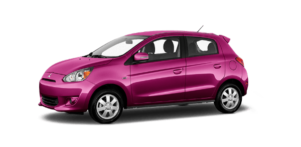 2016 Mitsubishi Mirage Plasma Purple