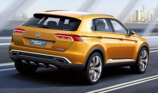 2016 Volkswagen Touareg Orange