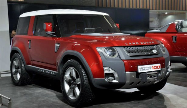 2016 Land Rover Defender 100 Concept
