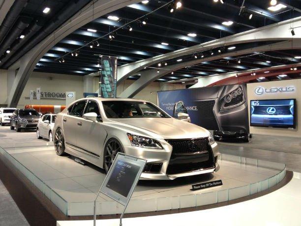 2016 Lexus LS 460 F Sport