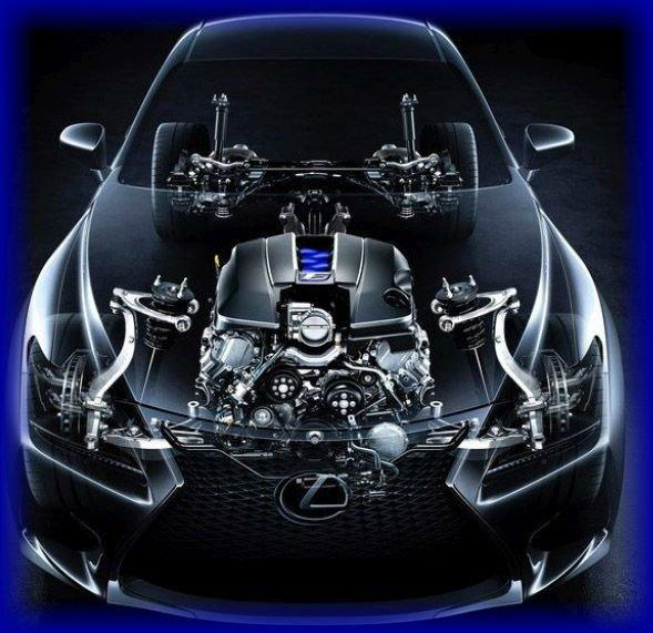 2016 Lexus RC F Sport Inside