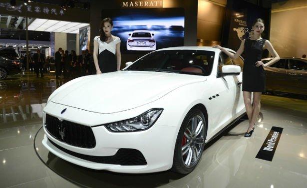 2016 Maserati Ghibli Model