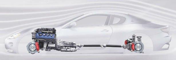 2016 Maserati GranTurismo Engine