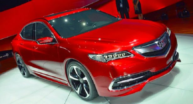 Acura ILX 2016 (Red