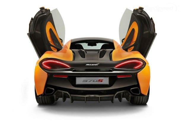 2016 McLaren 570S GT Exterior