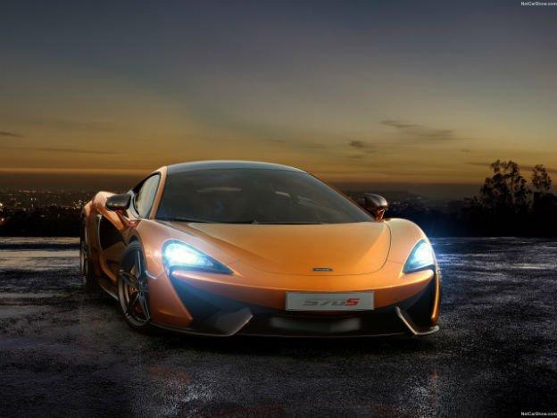 2016 McLaren 570S Lights