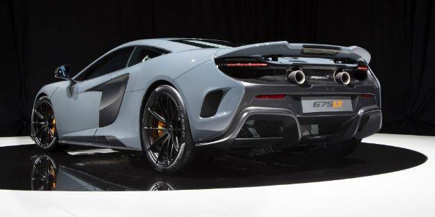 2016 McLaren 675LT Exaust
