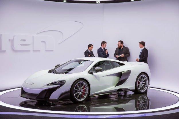 2016 McLaren 675LT White