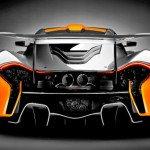 2016 McLaren P1 GTR Exaust