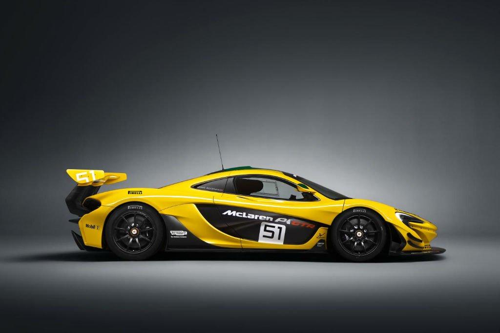 2016 McLaren P1 GTR Model