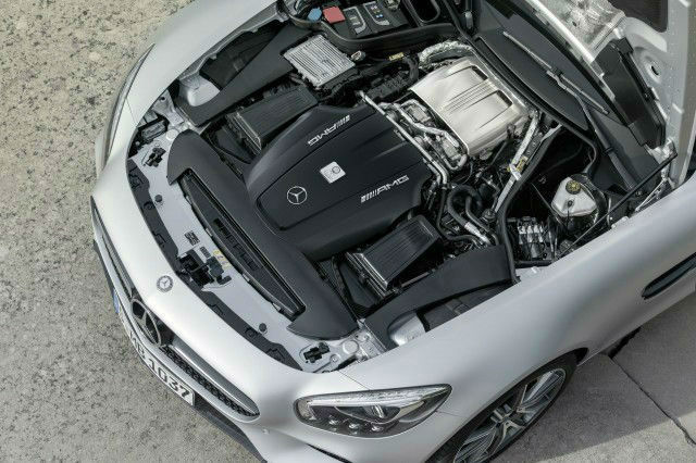 2016 Mercedes-Benz AMG GT Horsepower