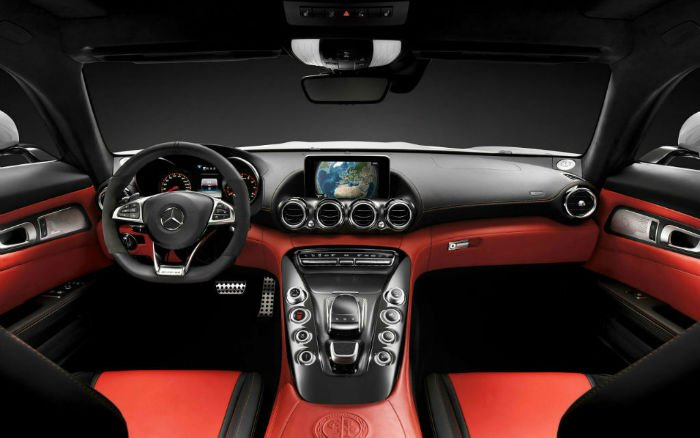 2016 Mercedes-Benz AMG GT Interior