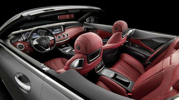 2016 Mercedes-Benz S-Class Cabriolet Inside