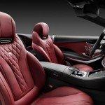 2016 Mercedes-Benz S-Class Cabriolet Interior