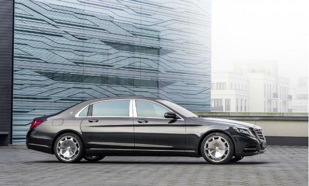 2016 Mercedes-Benz S-Class Maybach Black
