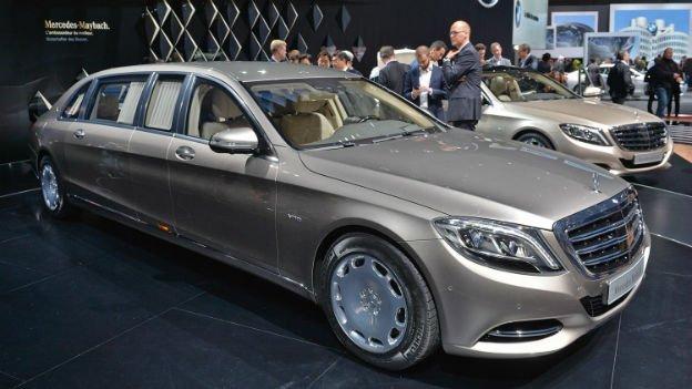 2016 Mercedes-Benz S-Class Pullman