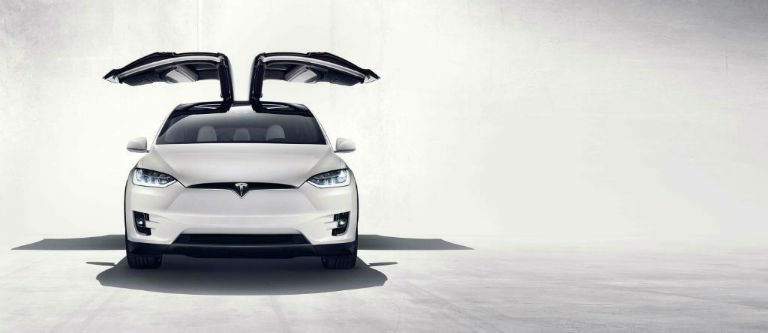 2016 Tesla Model X Falcon Wings
