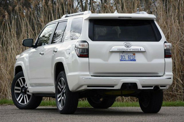 2016 toyota 4runner limited silver. Black Bedroom Furniture Sets. Home Design Ideas